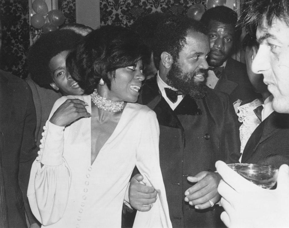 <p>Diana Ross's relationship with Motown producer Berry Gordy turned from professional to romantic in 1965. The couple continued to work together while dating and were in a relationship for several years. </p>