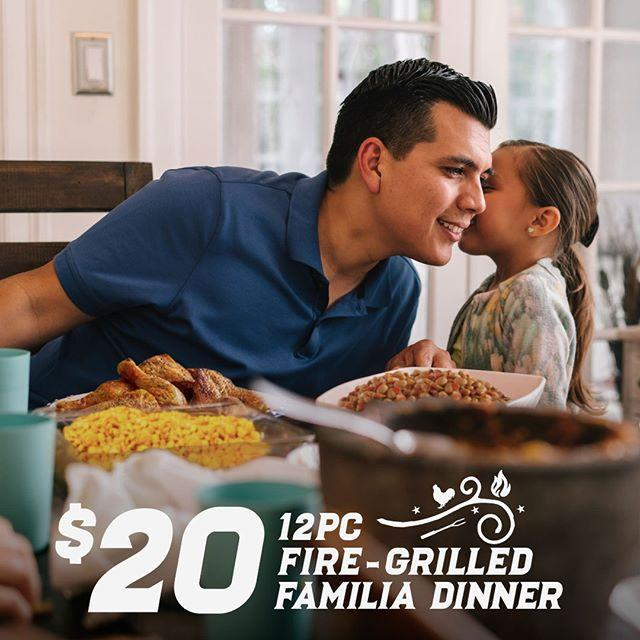 "<p>Between June 14 and June 16, you and dad can score a 12-piece fire-grilled chicken, your choice of three large sides, and warm tortillas for just $20. All you need is the <a href=""https://l.instagram.com/?u=http%3A%2F%2Fwww.elpolloloco.com%2Ffathersday&e=ATOq4LrY4arz1GMXtMlkgDjLC8J6cgMkxaV-ZAIaN9x3hvEfkCjGBLkkEdRZc3EmKgZ4SSaGAgjvOTc"" target=""_blank"">coupon</a>. </p><p><a href=""https://www.instagram.com/p/Bysjy1hHokk/?utm_source=ig_web_copy_link"">See the original post on Instagram</a></p>"
