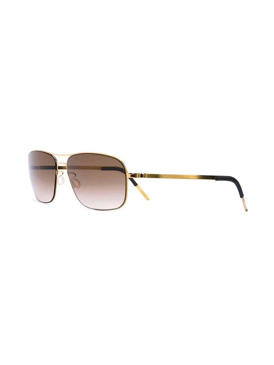 "<p>These cool frames will keep his eyes protected and his style in tact. <i>($655 <a href=""http://www.farfetch.com/ca/shopping/women/lindberg-rectangular-frame-sunglasses-item-11290244.aspx?storeid=9972&from=1&ffref=lp_pic_26_1_lst"" rel=""nofollow noopener"" target=""_blank"" data-ylk=""slk:via Farfetch"" class=""link rapid-noclick-resp"">via Farfetch</a>)</i></p>"