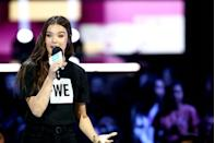 <p>Hailee started acting at the age of 10 and was nominated for an Academy Award when she was just 13 years old for her role in <em>True Grit</em>. She's since appeared in movies like <em>Pitch Perfect</em> and <em>The Edge of Seventeen, </em>while juggling a music career.</p>