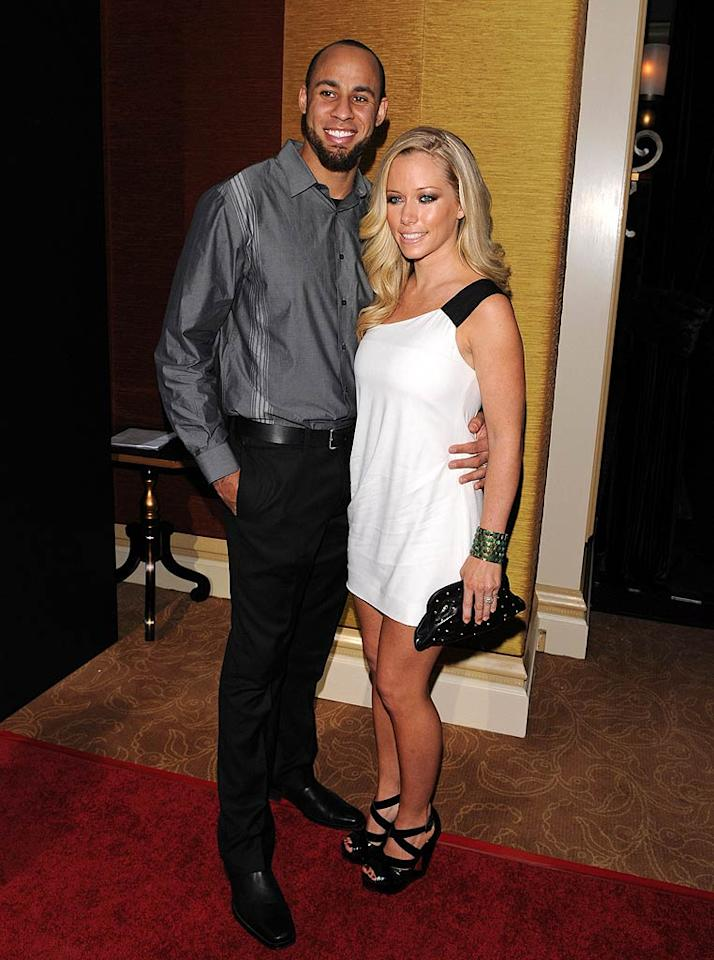 """Despite reports that their relationship is on the rocks, Kendra Wilkinson's bearded hubby Hank Baskett told """"Access Hollywood"""" at the Comcast Entertainment Group's TCA cocktail party in Pasadena, California, that they are """"definitely happy as ever."""" Jean Baptiste Lacroix/<a href=""""http://www.wireimage.com"""" target=""""new"""">WireImage.com</a> - January 5, 2011"""