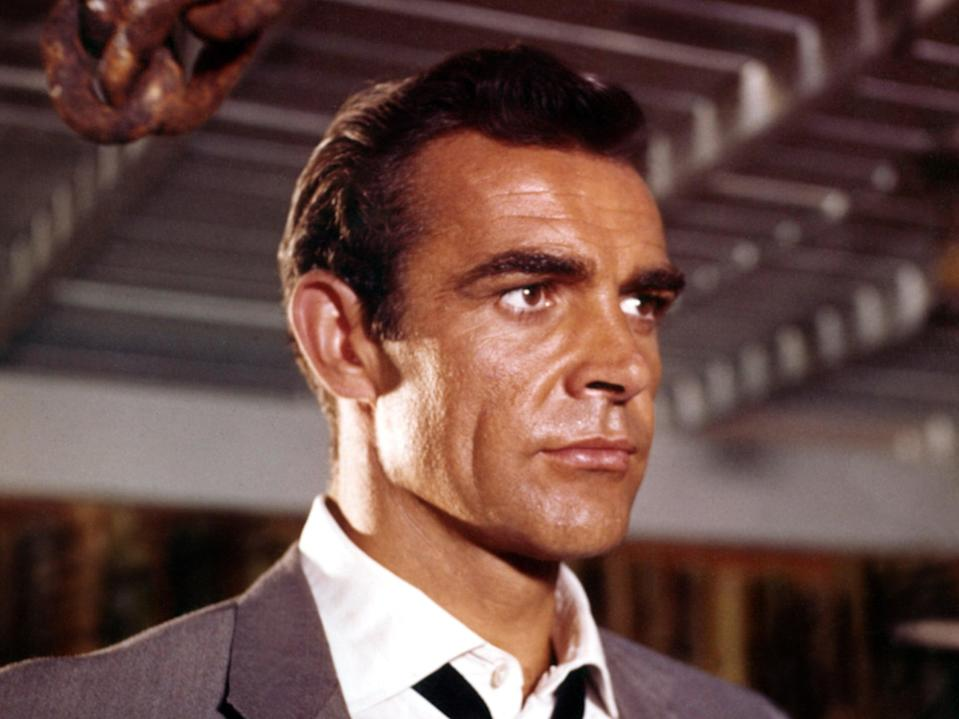 'What you notice in almost all Connery's roles is the drive and determination': Remembering the screen icon who has died, aged 90 (Rex Features)