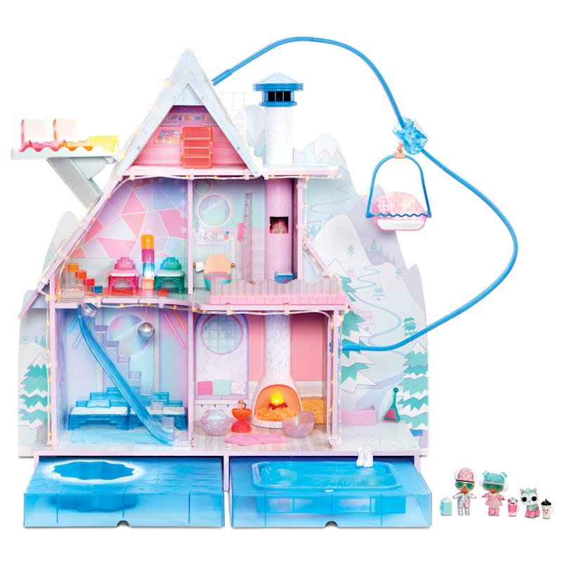 L.O.L. Surprise! Winter Disco Chalet Doll House. (Photo: Walmart)