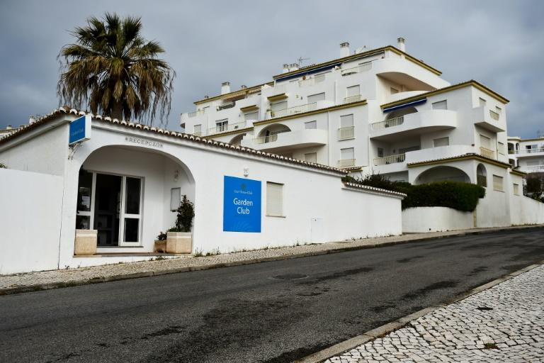 """Main entrance of """"Luz Oceans Club - Garden Club"""" where the McCanns were staying when their daughter  disappeared, in 2007 in the Algarve, Portugal"""