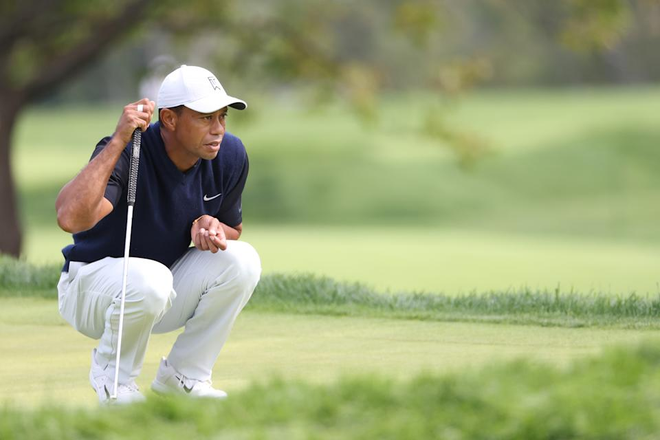 Tiger Woods brought home a solid opening round at the U.S. Open. (Photo by Jamie Squire/Getty Images)