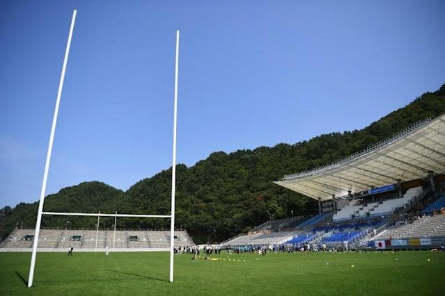 The Kamaishi Unosumai Memorial stadium is for many a symbol of hope and recovery after the 2011 tsunami (AFP Photo/CHARLY TRIBALLEAU)