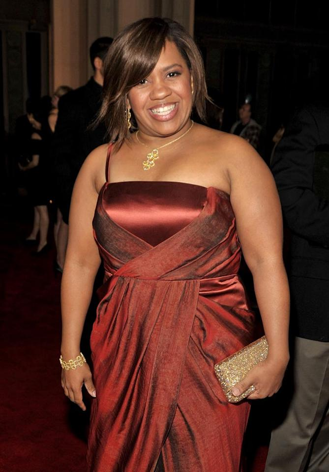 "<a href=""/chandra-wilson/contributor/1089655"">Chandra Wilson</a> arrives at the 35th Annual People's Choice Awards held at the Shrine Auditorium on January 7, 2009 in Los Angeles, California."