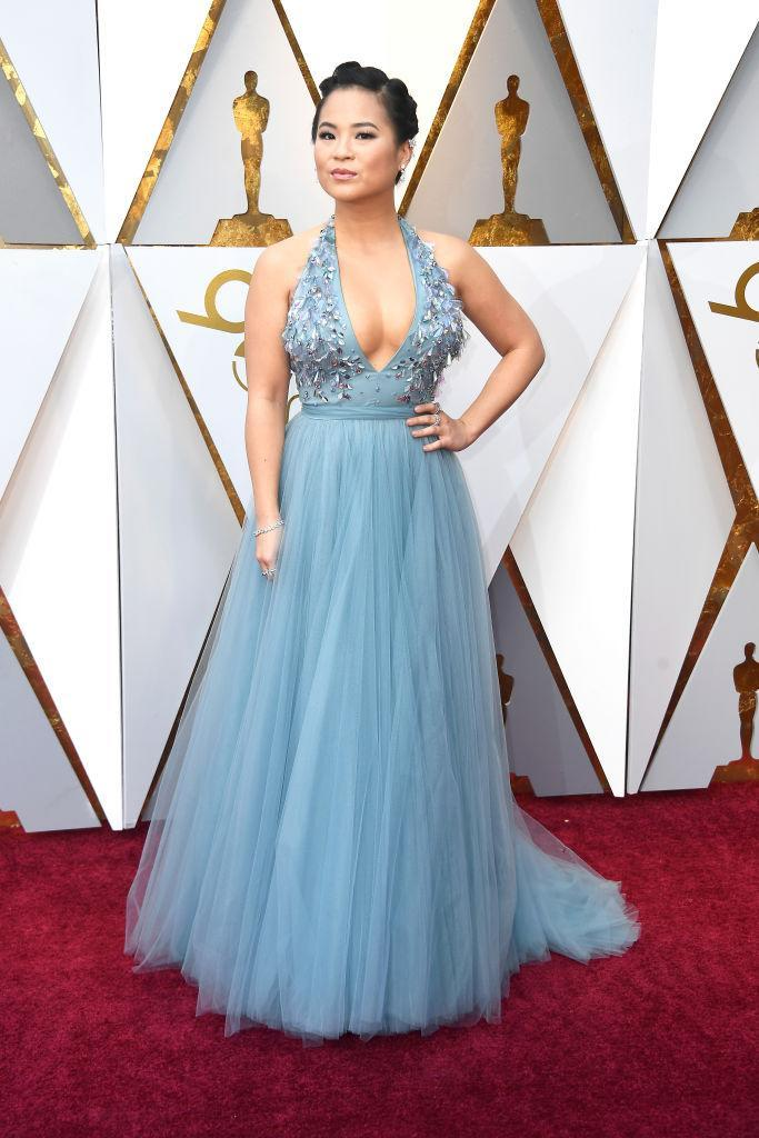 <p>Kelly Marie Tran attends the 90th Academy Awards in Hollywood, Calif., March 4, 2018. (Photo: Getty Images) </p>