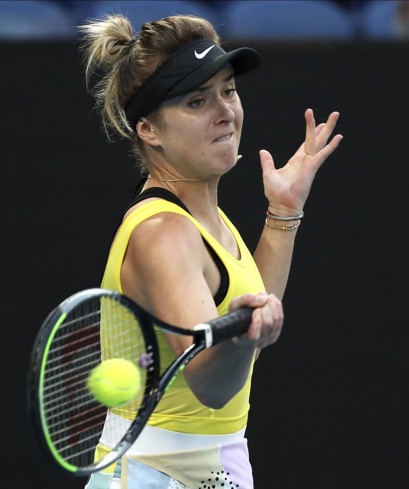 Top seed Svitolina rolls into Thailand quarterfinals