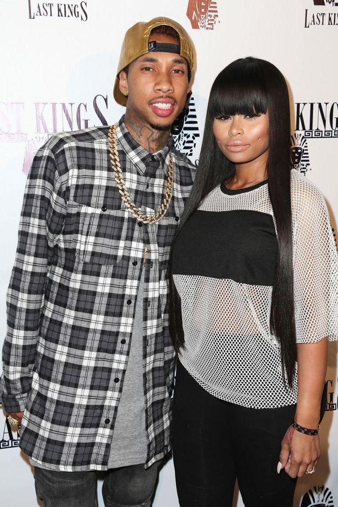 Tyga and Blac Chyna | Imeh Akpanudosen/Getty
