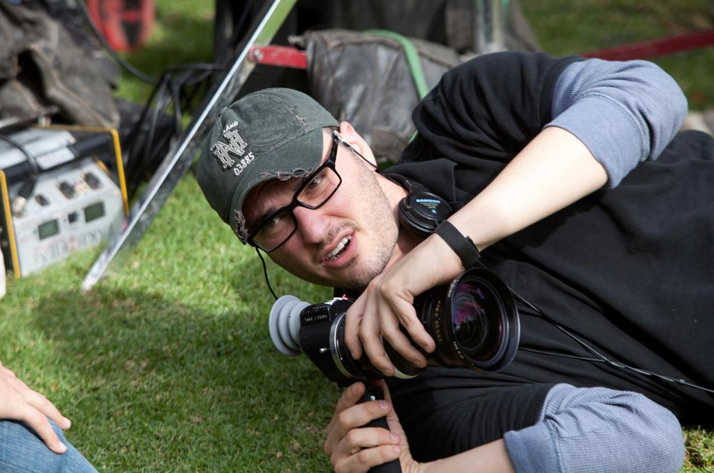 "Joshua Trank on the set of 20th Century Fox's ""<a href=""http://movies.yahoo.com/movie/chronicle-2012/"">Chronicle</a>"" - 2012"