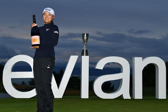 The overall purse at Evian Resort Golf Club was $4.1 million with winner Jin Young Ko taking home $615,000 for her victory
