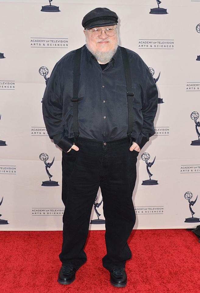 "Executive Producer George R.R. Martin attends The Academy of Television Arts & Sciences'  presentation of An Evening With ""Game of Thrones"" at TCL Chinese Theatre on March 19, 2013 in Hollywood, California."