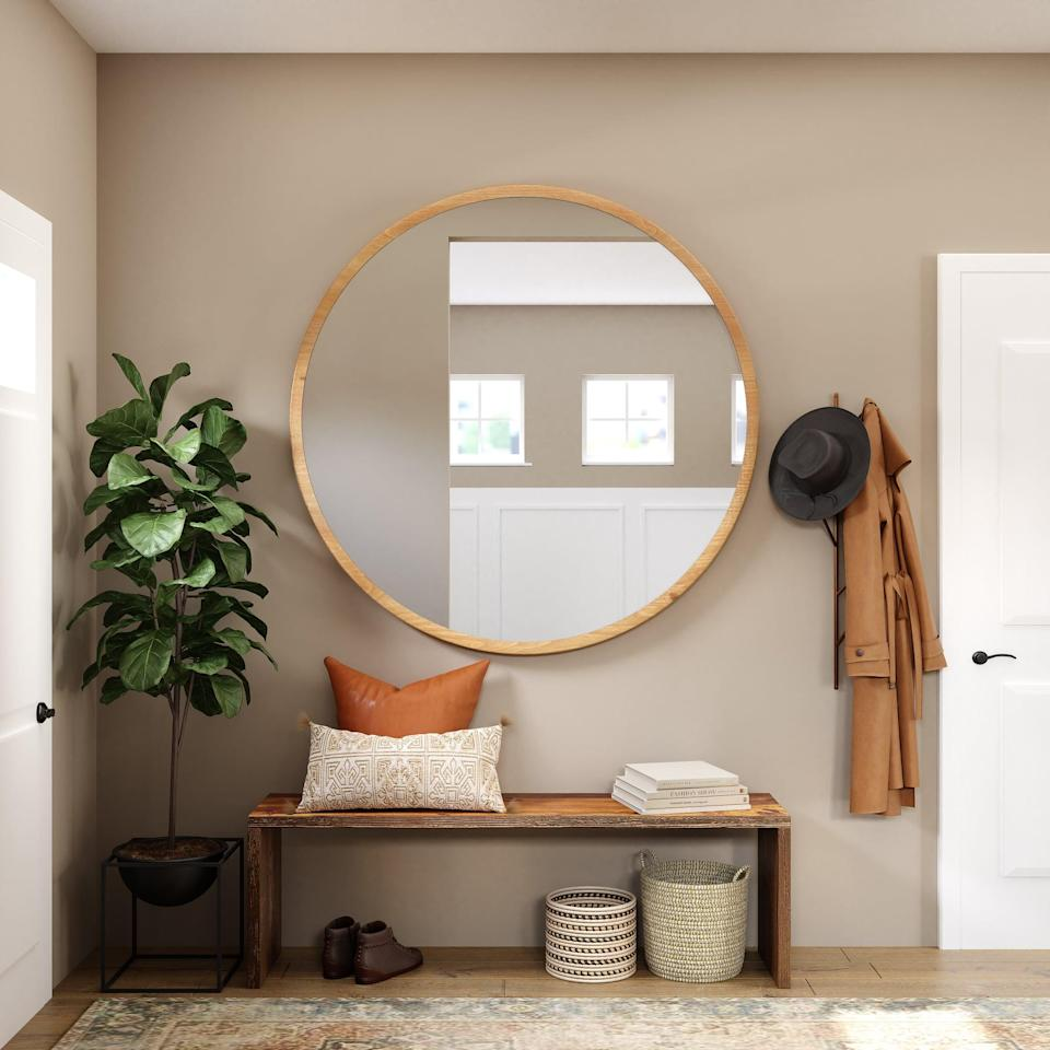 <p>First impressions matter, and your entryway is the first thing your guests will see when they enter your home. Things like decor, coat hooks, a mirror, or tasteful storage space all make a big difference - and a big first impression.</p>