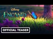 "<p>With music by Lin Manuel-Miranda, Disney's animated musical <em>Encanto</em> takes place in Colombia and centers on a magical family. Miranda<a href=""https://io9.gizmodo.com/lin-manuel-miranda-tells-us-what-sets-encanto-apart-fro-1845936766"" rel=""nofollow noopener"" target=""_blank"" data-ylk=""slk:called"" class=""link rapid-noclick-resp""> called</a> it an ""intergenerational family story with all the complexity that brings.""</p><p><a href=""https://www.youtube.com/watch?v=2-TUIfpfjkM&feature=emb_title "" rel=""nofollow noopener"" target=""_blank"" data-ylk=""slk:See the original post on Youtube"" class=""link rapid-noclick-resp"">See the original post on Youtube</a></p>"