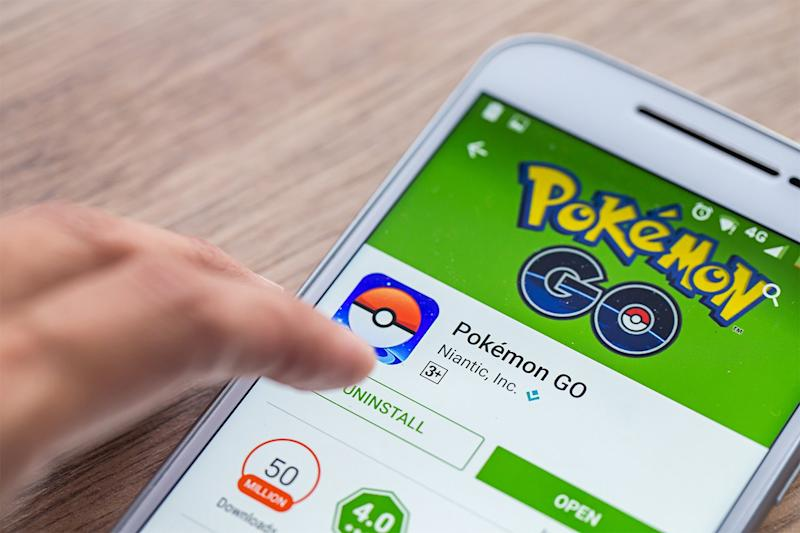 You can transfer the Pokémon you've caught in Pokémon Go to the new game (Shutterstock)