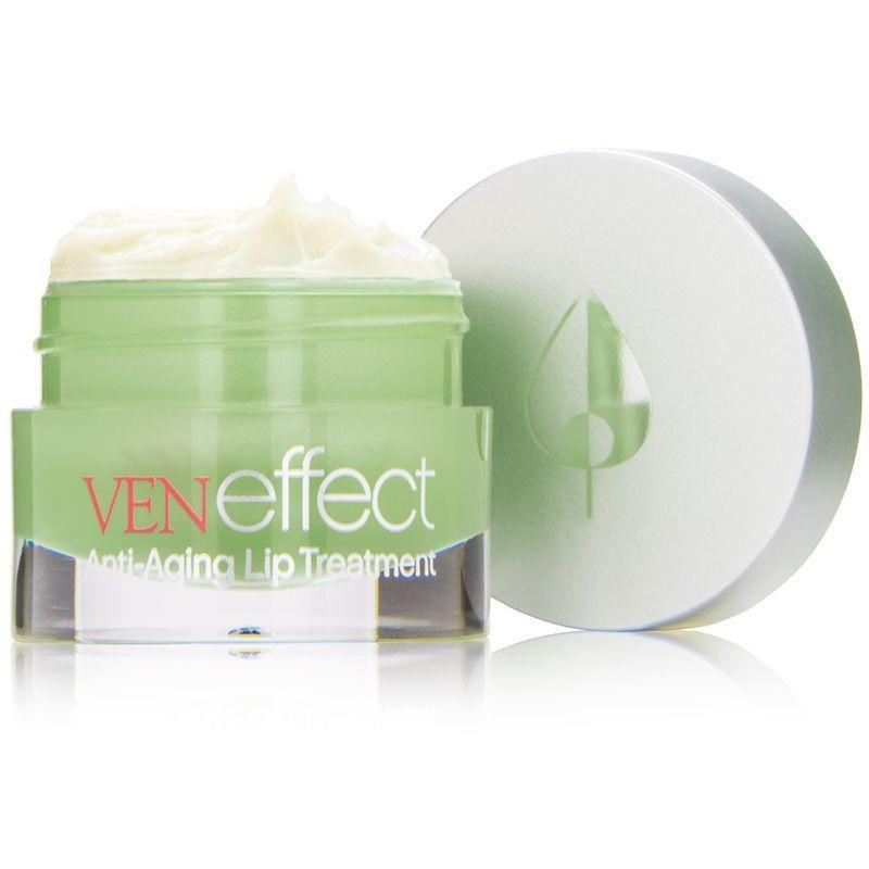 """<p><strong>VenEffect</strong></p><p>dermstore.com</p><p><strong>$85.00</strong></p><p><a href=""""https://go.redirectingat.com?id=74968X1596630&url=https%3A%2F%2Fwww.dermstore.com%2Fproduct_AntiAging%2BLip%2BTreatment_63123.htm&sref=https%3A%2F%2Fwww.goodhousekeeping.com%2Fbeauty%2Fmakeup%2Fg3325%2Fbest-lip-balms%2F"""" rel=""""nofollow noopener"""" target=""""_blank"""" data-ylk=""""slk:Shop Now"""" class=""""link rapid-noclick-resp"""">Shop Now</a></p><p>This GH Beauty Lab test-winning VenEffect lip treatment provides both softening and anti-aging benefits in one thanks to ingredients like peptides, antioxidants, and hydrators. In Lab evaluations, the formula <strong>made lips look fuller after four weeks of use</strong>, and testers gave it high marks for its non-tacky feel and soaking in quickly.</p>"""