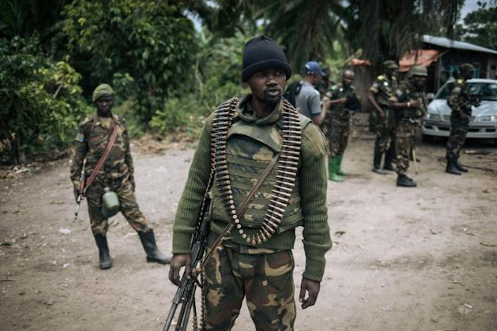 DR Congo troops have struggled to contain attacks by the Armed Democratic Forces, a militia that Washington links to the Islamic State group