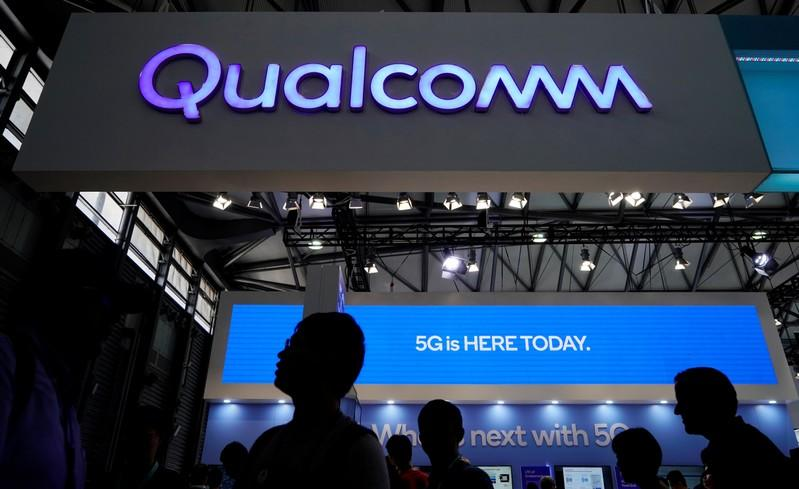 Qualcomm's licensing forecast, helped by Apple deal, drives share gains