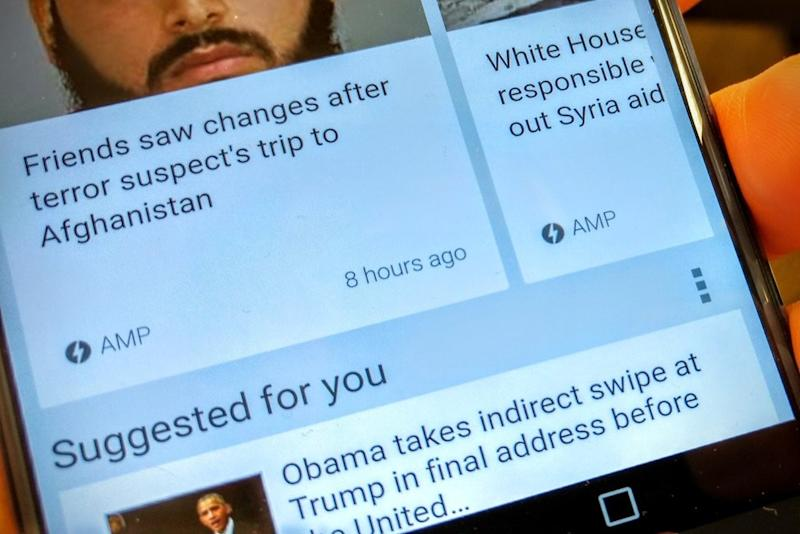 Google gives speedy AMP-enabled news stories a boost in search