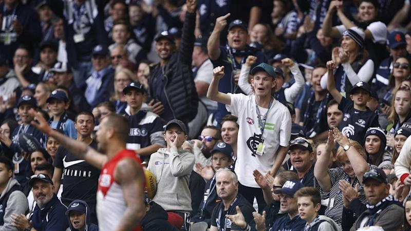 The AFL says it has not changed its stance on fan behaviour