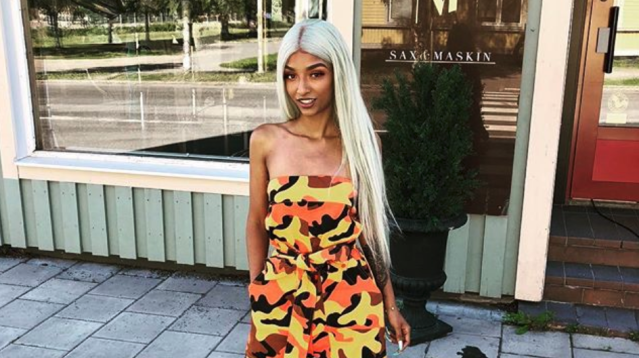 Rising rapper Young Ash is accused of using social media to dupe her followers into a credit card scheme. (Photo: Young Ash via Instagram)