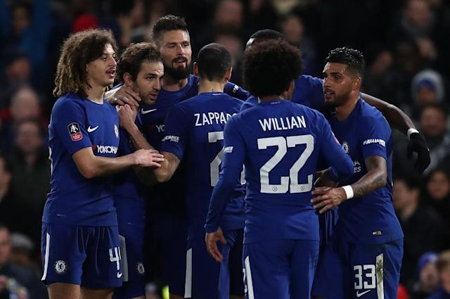 Chelsea to face Leicester City in the FA Cup quarter-finals
