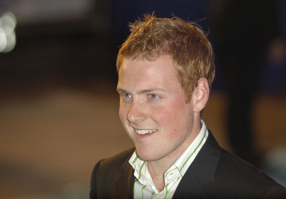 Charlie Clements arrives at the UK Premiere of