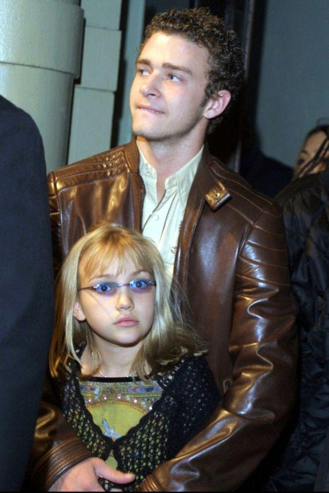 Justin Timberlake with Jamie Lynn Spears in 2001 | Steve Azzara/Corbis via Getty Images
