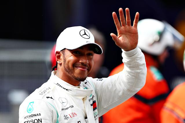 Lewis Hamilton intends to make himself carbon-neutral by the end of the year. (Getty Images)