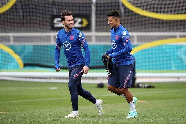 Jadon Sancho and Ben Chilwell did not make the England squad against Croatia
