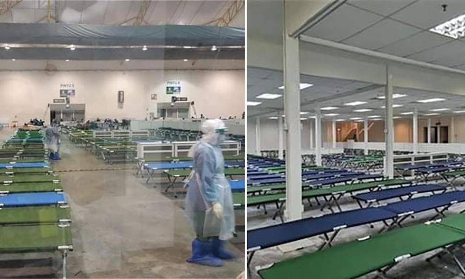 Maeps quarantine centre increases bed capacity by over 3,000