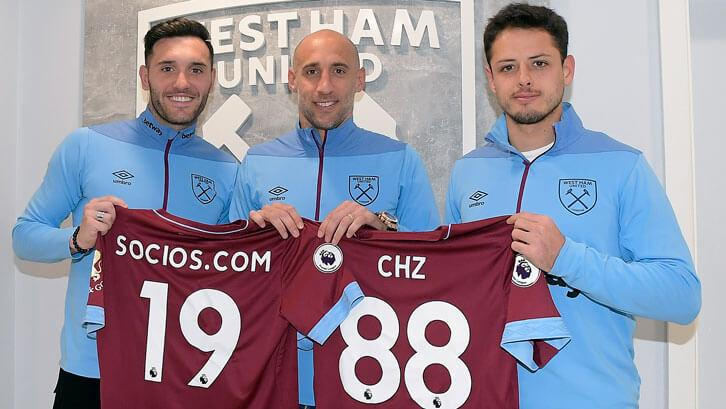 West Ham to use blockchain-based fan voting system Socios.com