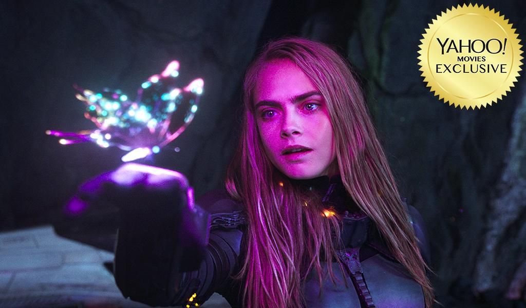 """<p>Sure, the Guardians have visited some pretty weird places, but they haven't witnessed a metropolis made up of a thousand different planets. That's the setting for <a rel=""""nofollow"""" href=""""https://www.yahoo.com/movies/tagged/luc-besson"""">Luc Besson</a>'s comic book-derived space opera, which looks like it will provide some out-of-this world CGI eye candy. 