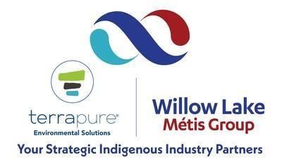 The Newly formed strategic partnership between Willow Lake Métis Group and Terrapure Environmental will increase capacity for industrial cleaning services, while generating economic opportunities for the Willow Lake Métis Nation in the Wood Buffalo Region. (CNW Group/Willow Lake Métis Group)