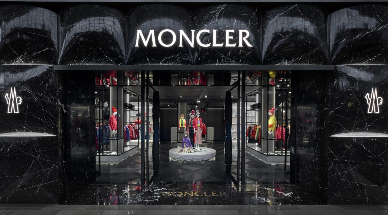 innovative design 73b89 29606 Moncler's flagship store at Marina Bay Sands is the largest ...