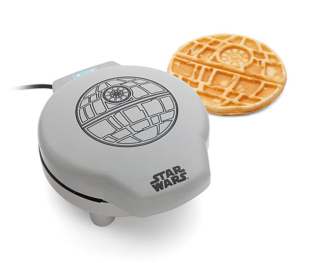 "<p>When it comes to marketing and merchandizing, it's hard to think of a more recognizable franchise than <i>Star Wars.</i> But this <i>Star Wars</i> Death Star waffle maker takes ""branding"" to a whole new level. (<a rel=""nofollow"" href=""http://www.thinkgeek.com/product/huik/?cpg=fb&cpg=cj&ref=&CJURL=&AID=10746449&PID=4441350&SID=n-beb8ynxb9w--851117702&CJID=2975314"">$39.99, Think Geek</a>) </p>"
