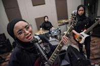 All-female band VOB had to fight social conservatism and family pressure before becoming one of Indonesia's hottest acts
