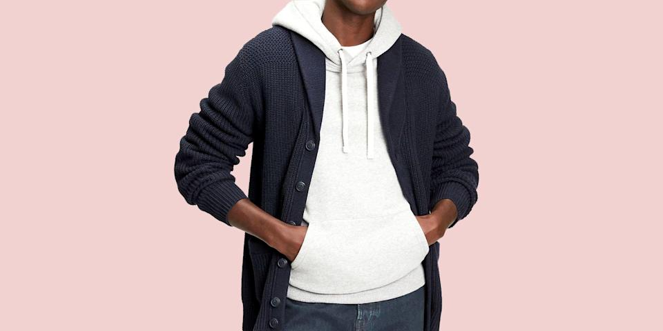 "<p class=""body-text""><em>Welcome to <strong>Add to Cart,</strong> a (semi)regular segment that spotlights the best pieces of menswear to buy at a bargain from across the web.</em></p><hr><p class=""body-dropcap"">You probably remember Gap (there was a ""the"" unofficially tacked on at some point long ago, though the brand itself always favored the simpler moniker) from back-to-school shopping trips to the mall with your long-suffering mother and her endless reserves of patience. Well, you might not be going back to, ah, <em>anywhere</em> at the moment, but Gap is still a force to be reckoned with this time of year. The brand can't stop—won't stop!—doing everything in its power to entice customers to walk through its virtual doors, often in the form of some truly eye-watering discounts.</p><p>I'm not going to lie, it's always a little bittersweet to see prices slashed this low, even temporarily, but it's also a welcome reminder of how much <em>heat</em> the retailer still stocks. In the years since those formative trips, Gap might not have stayed top of mind when it came to meeting your everyday menswear needs. But it remains a veritable American institution, the place to go if you're looking to stock up on basics at ""Um, is this correct?"" prices, or not-so-basics at prices that belie how damn good the product looks. </p><p>Speaking of sweet, sweet discounts, right now the retailer happens to be taking 40% off almost everything, along with an <em>additional</em> 20% off that, and if you move fast, you can still get in on the action. So why not take the opportunity to get to know Gap once again? And then say sorry to your mother. I'm not sure for what, precisely, but chances are you owe her one. </p>"