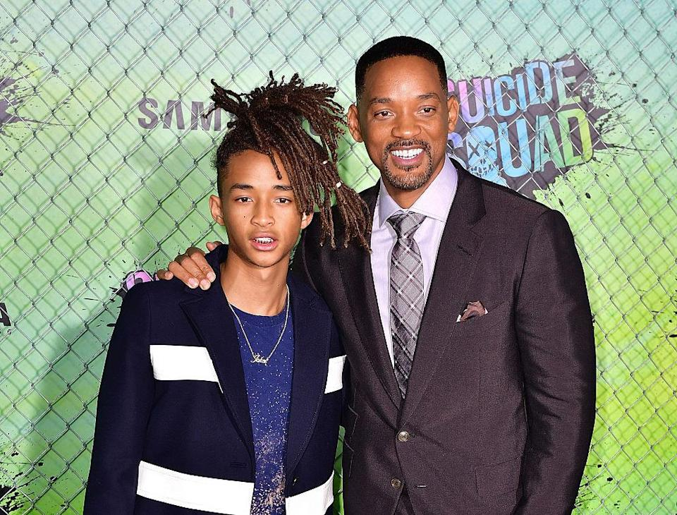 <p>Though Jaden has certainly managed to make a name for himself, we can still see influences of dad in both his looks and his style. <i>(Photo by James Devaney/WireImage)</i><br></p>