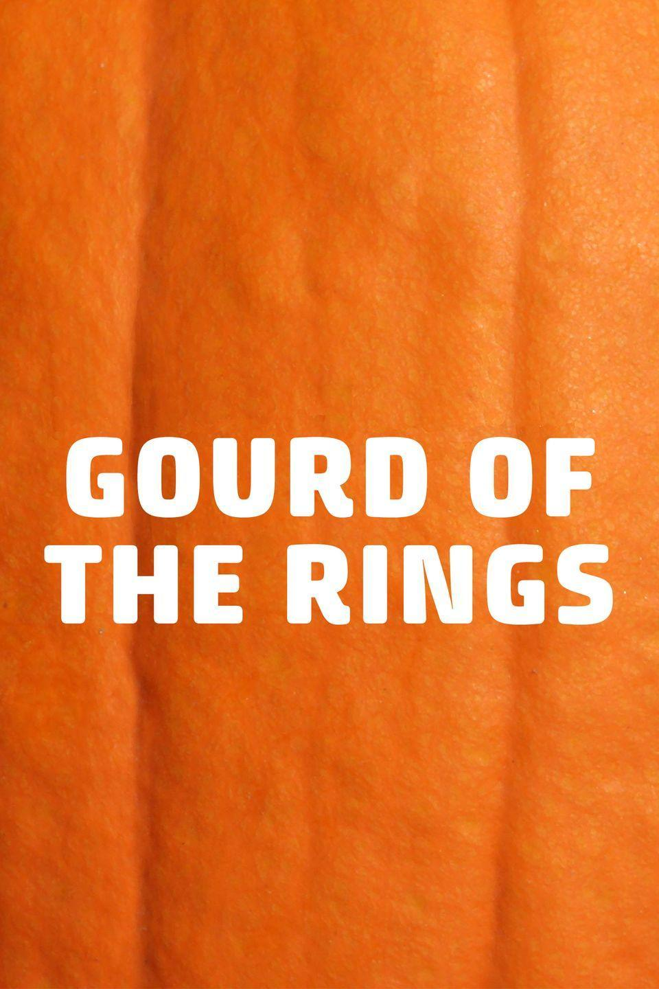 <p>Ringers, this pumpkin pun is for you!</p>