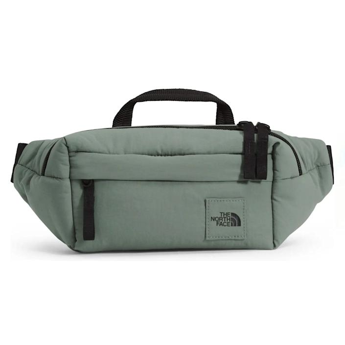 """Great for keeping essentials handy—and his pockets free. $50, Nordstrom. <a href=""""https://www.nordstrom.com/s/the-north-face-city-voyager-water-repellent-belt-bag/5600416"""" rel=""""nofollow noopener"""" target=""""_blank"""" data-ylk=""""slk:Get it now!"""" class=""""link rapid-noclick-resp"""">Get it now!</a>"""