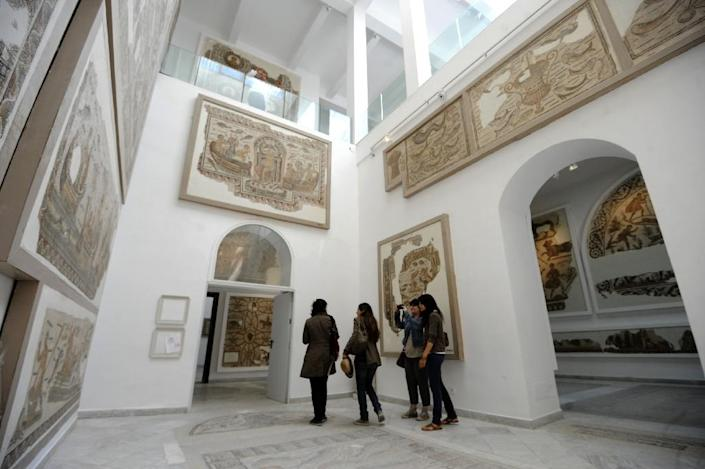 The Bardo Museum is renowned for its exceptional collection of ancient mosaics (AFP Photo/Fethi Belaid)