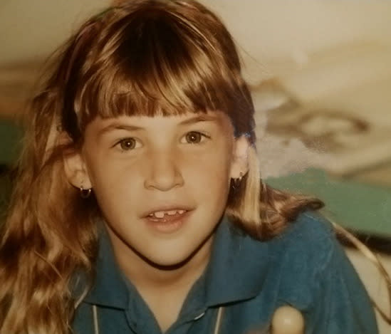 """<p>'The Big Bang Theory's' Mayim Bialik in her pre-'Blossom' days: """"For #tbt how about me at 8?"""" -<a href=""""http://tmblr.co/mook_neGkCm8IH6po0ZB-RA"""" rel=""""nofollow noopener"""" target=""""_blank"""" data-ylk=""""slk:@missmayim"""" class=""""link rapid-noclick-resp"""">@missmayim</a> (Instagram)<br></p>"""