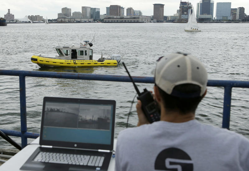 Self-driving boats: The next tech transportation race