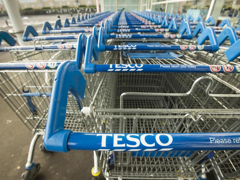 A Tesco spokesperson offered assurances that trolleys across all their shops will be upgraded by the time the new round pound ceases to be legal tender in October: PA