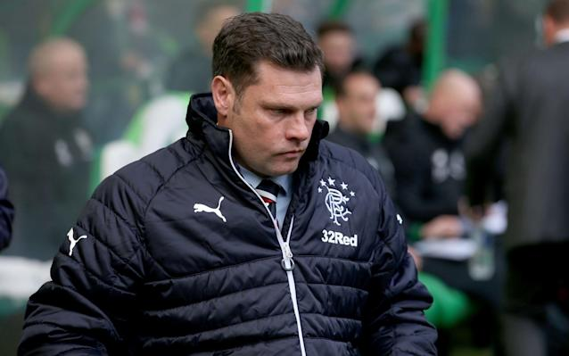 """Graeme Murty's departure from Rangers is the inevitable conclusion to a tawdry chapter which saw this decent man and dedicated coach 'thrown under the bus', in the words of Brendan Rodgers. The club website confirmed the news in a statement which read: """"Graeme Murty has this morning been relieved of his duties as manager of Rangers. """"Jimmy Nicholl and Jonatan Johansson will take charge of the team for the three remaining matches of the season. Rangers are grateful to Graeme, who did not hesitate when asked last October to become interim manager after the departure of Pedro Caixinha and then, at the turn of the year, when he was offered the role as manager until the end of the season. """"Graeme has had to contend with difficult and challenging circumstances but conducted himself in a thoroughly professional manner. He will take some time to consider his options, which include returning to his role at the Rangers Academy."""" The 43-year-old Murty – who played for York City, Reading, Southampton and Scotland as a defender – began his coaching career at Southampton before moving in 2014 to Norwich City, as coach of the under-16 and then the under-18s. In the summer of 2016 Rangers appointed him as Head Development Squad Coach and their then academy director, Craig Mulholland, said: """"It is important that we appoint individuals who understand our philosophy and will fit into our one club culture, we believe in Graeme we have found such an individual. The Rangers board are optimistic over appointing Steven Gerrard Credit: Getty Images """"Graeme demonstrated throughout the process a desire to learn and improve and that is what we seek to achieve on a daily basis with our players and staff. We believe Rangers and our young players will benefit from his input as a modern innovative coach."""" Within eight months, however, Murty was asked to undertake a vastly more demanding task, as interim manager after the departure of Mark Warburton. Against expectations, Murty supervised a 1-1 dra"""