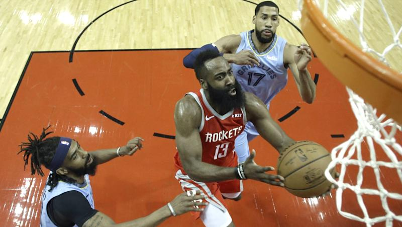 Three Things to Know  Rockets win big with 57 from Harden 694098458