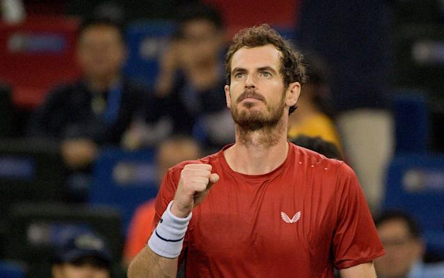 Andy Murray has been stepping up his recovery from hip surgery - AFP
