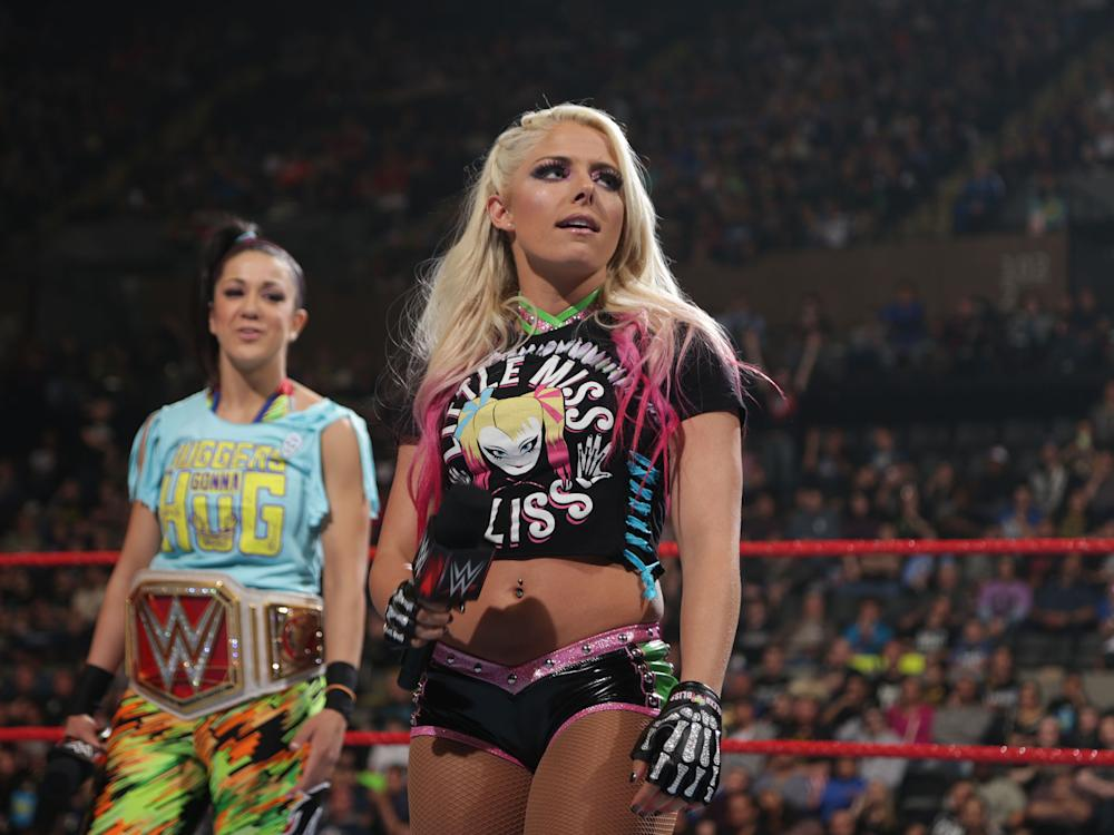 Alexa Bliss has the chance to end Bayley's title reign at Payback: WWE